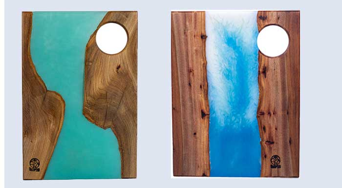 Resin River Charcuterie Boards